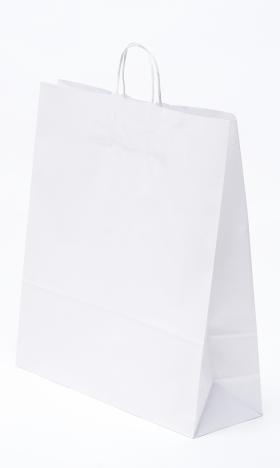 Papírtáska Sodrottfüles Fehér