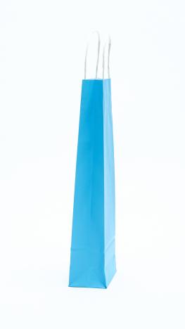 Italos Papírtáska Sodrottfüles Világos Kék