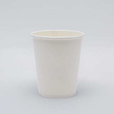 Kávés papírpohár fehér design
