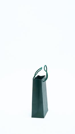 Papírtáska Zsinórfüles Zöld